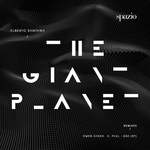 ALBERTO SANTANA - The Giant Planet (Front Cover)