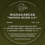 MADAGASCAR - Mondio Muzik EP (Front Cover)