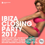 VARIOUS - Ibiza Closing Party 2017 (Deluxe Version) (unmixed tracks) (Front Cover)