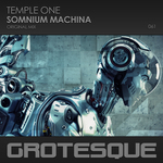 TEMPLE ONE - Somnium Machina (Front Cover)