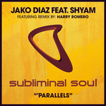 JAKO DIAZ feat SHYAM - Parallels (Front Cover)