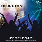 EDLIGTON - People Say (Front Cover)