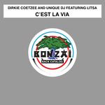 DIRKIE COETZEE & UNIQUE DJ feat LITSA - C'est La Vie (Front Cover)