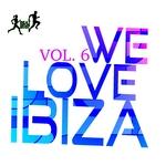 YAMATO DAKA/THE MINIMAL PUPPETS/DIE FANTASTISCHE HUBSCHRAUBER/BLIZZY GEM/ORGANIC NOISE FROM IBIZA/CELLOS BALEARICA/KLUM BAUMGARTNER/KENJI SHK/GLITCH VUU - We Love Ibiza Vol 6 (Front Cover)