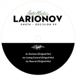 LARIONOV - Decision EP (Front Cover)