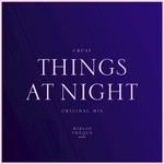 CRUSY - Things At Night (Front Cover)