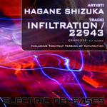 HAGANE SHIZUKA - 22943/Infiltration (Front Cover)