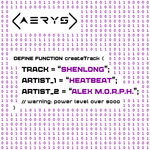 HEATBEAT & ALEX MORPH - Shenlong (Front Cover)