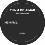 TIJN & BOLUMAR - Earth Funk (Front Cover)