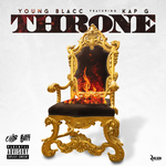 YOUNG BLACC feat KAP G - Throne (Explicit) (Front Cover)