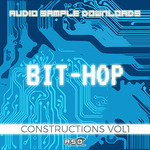 AUDIO SAMPLE DOWNLOADS - Bit Hop Constructions 1 (Sample Pack MIDI) (Front Cover)