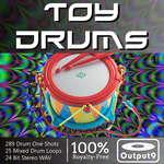 AUDIO SAMPLE DOWNLOADS - Toy Drums (Sample Pack WAV) (Front Cover)