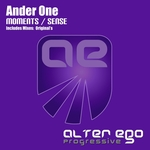 ANDER ONE - Moments/Sense (Front Cover)