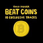 VARIOUS - Gold Digger Beat Coins (Front Cover)