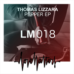 THOMAS LIZZARA - Pepper EP (Front Cover)