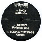 SHOX/GEMMY/SLAP IN THE BASS - RKS Allstars 4 (Front Cover)