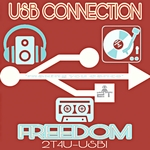 USB CONNECTION - Freedom (Front Cover)