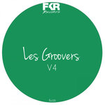 VARIOUS - Les Groovers V4 (Back Cover)