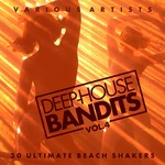 VARIOUS - Deep-House Bandits Vol 4 (30 Ultimate Beach Shakers) (Front Cover)