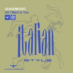 QUASIMODO - All I Want Is You (Front Cover)