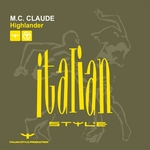 MC CLAUDE - Highlander (Front Cover)