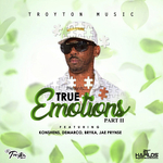 KONSHENS/BRYKA/DEMARCO/JAE PRYNSE - True Emotions Riddim: Part 2 (Front Cover)
