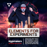 SINGOMAKERS - Elements For Experiments (Sample Pack WAV/APPLE/LIVE/REASON) (Front Cover)