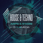 5PIN MEDIA - House & Techno Arps & Stabs (Sample Pack WAV/APPLE) (Front Cover)