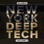 SOUNDBOX - New York Deep Tech Vol 2 (Sample Pack WAV) (Front Cover)