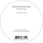 EDUARDO DE LA CALLE - Modern Choices (Front Cover)