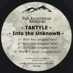 TAKTYLE - Into The UnknowN (Front Cover)
