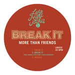 MORE THAN FRIENDS - Break It (Front Cover)