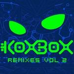 KOXBOX - Color Rain (Front Cover)