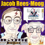 RAGE AGAINST THE BREXIT MACHINE - Jacob Rees-Moog (Front Cover)