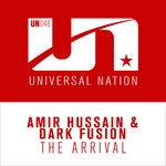 AMIR HUSSAIN & DARK FUSION - The Arrival (Front Cover)