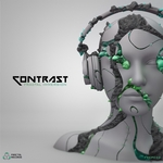 CONTRAST/IRON LOTUS - Fractal Immersion (Front Cover)