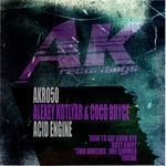 ALEXEY KOTLYAR & COCO BRYCE - Acid Angine (Front Cover)