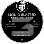 LIQUID BLASTED - Back In USSR (Front Cover)