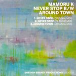 MAMORU K - Never Stop/Around Town (Front Cover)