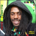 GENERAL LEVY - Down Inna Ghetto (Front Cover)