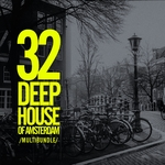 VARIOUS - 32 Deep House Of Amsterdam Multibundle (Front Cover)