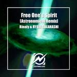 RINALY/RYOJI TAKAHASHI - Free One's Spirit (Front Cover)