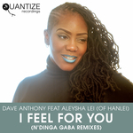 DAVE ANTHONY feat ALEYSHA LEI OF HANLEI - I Feel For You (Front Cover)