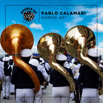 PABLO CALAMARI - Horns AF (Front Cover)