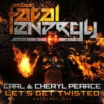 CARL & CHERLY PEARCE - Let's Get Twisted (Front Cover)