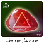 VARIOUS - Elements/Fire 4th Rune (Front Cover)