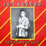JOY PETERS - One Night In Love (Front Cover)