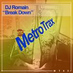 DJ ROMAIN - Break Down (Front Cover)