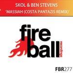 SKOL & BEN STEVENS - Massiah (Costa Pantazis remix) (Front Cover)