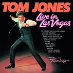 TOM JONES - Live In Las Vegas (Front Cover)